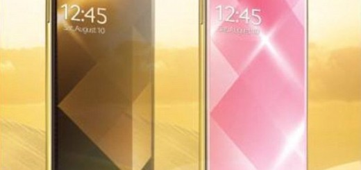 Samsung unveils s4 gold edition