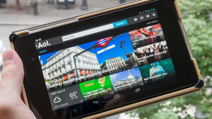 AOL app for android phone and tablets