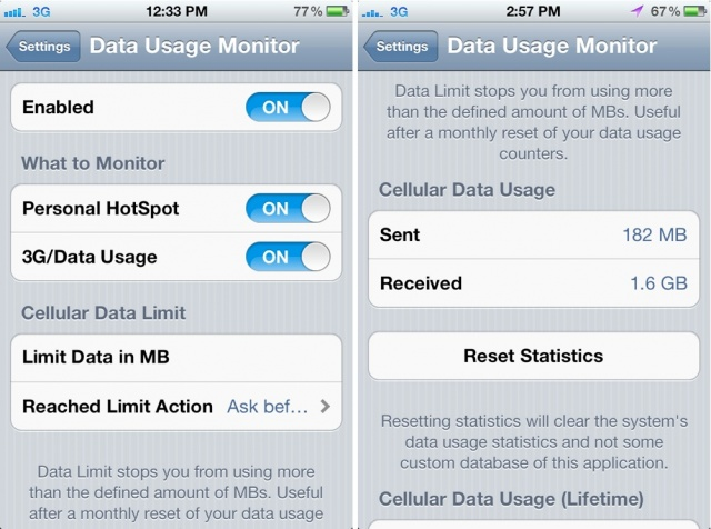 data usage iphone ways to cut data usage iphones smartntechs 2829