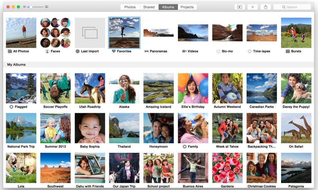 Apple photo app features