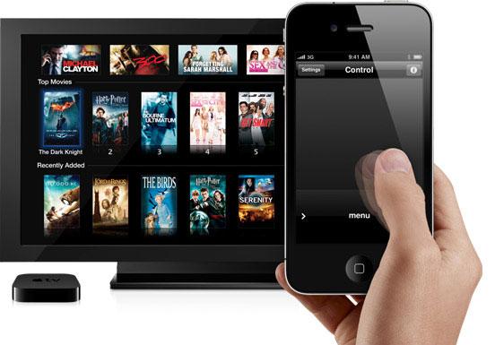 iphone ipdad as tv remote