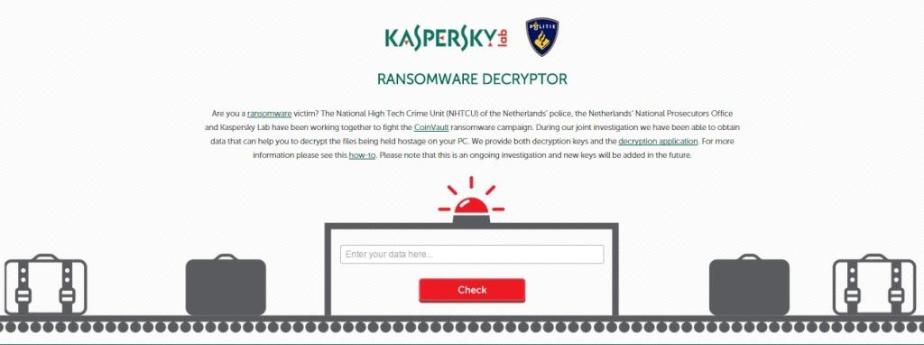 Kaspersky Decryptor Tool