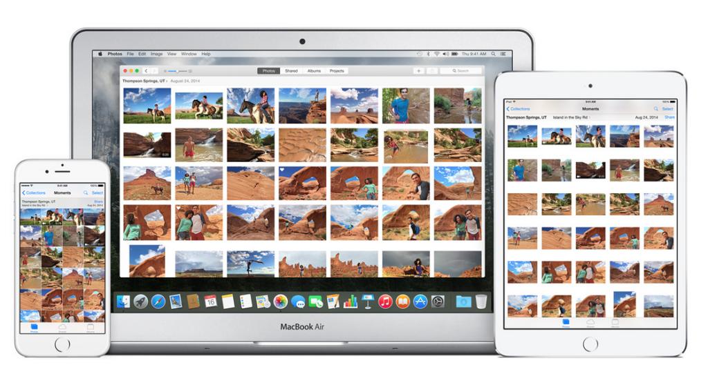 Apple imac photo app