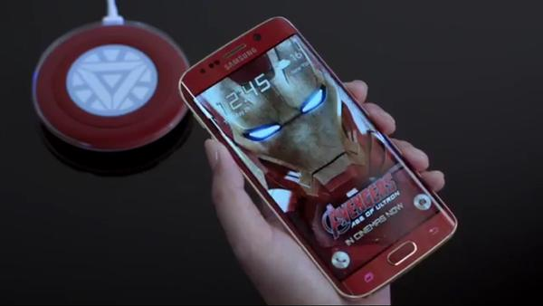 samsung galaxy iron man