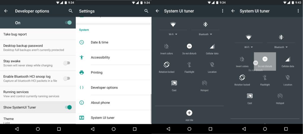 Enable Hidden UI Tuner