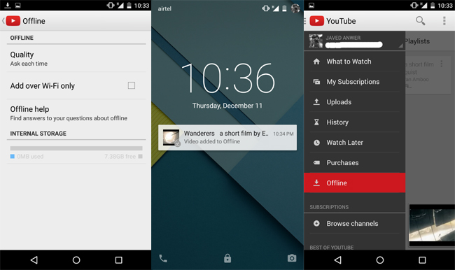 More On Youtube Offline How To Watch And Save Video Offline Smartntechs