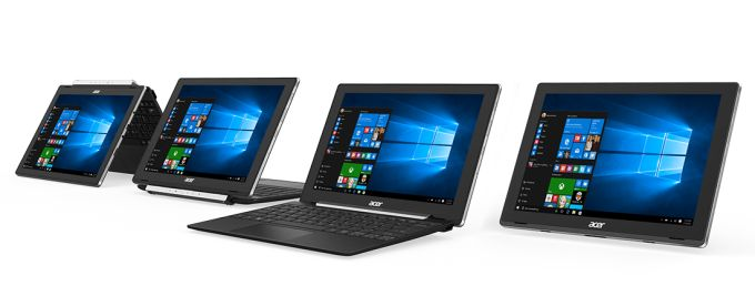 Acer Excites with new Hybrid Windows Tablets Namely Switch One 10 and Switch V 10